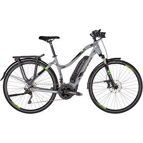 HAIBIKE SDURO Trekking 4.0 Dame grey/black/green